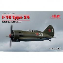 1/32 I-16 TYPE 24 WWII SOVIET