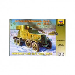 1/35 BA-3 MOD 1934 SOVIET
