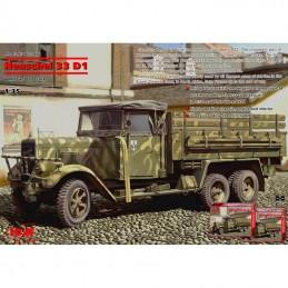 1/35 HENSCHEL 33 D1 WWII...