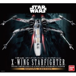 X-WING STARFIGHTER MOVING...