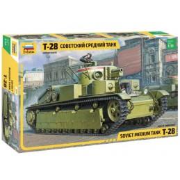 1/35 SOVIET T-28 HEAVAY TANK