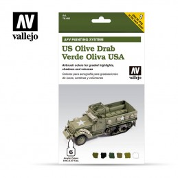 AFV ARMY OLIVE DRAB ARMOUR...