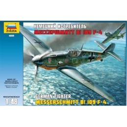 1/48 MESSERSCHMITT BF-109 F4