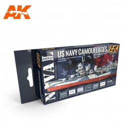 US ANVY CAMOUFLAGES SET