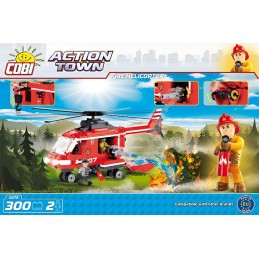 COBI 300PCS FIRE HELICOPTER