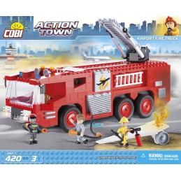 COBI 420PCS AIRPORT FIRE TRUCK