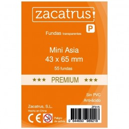 FUNDAS MINI ASIA PREMIUN 43X65