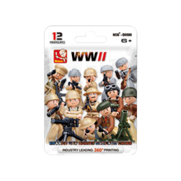 SLUBAN WWII MINIFIGURAS