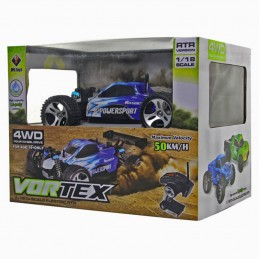 COCHE RC BUGGY 1/18 POWERSPORT
