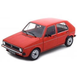 1/18 VOLKSWAGEN GOLF L RED...