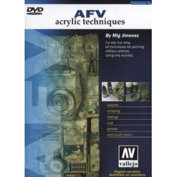 DVD AFV ACRYLIC TECHNIQUES
