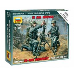 1/72 GERMAN 81MM MOTAR