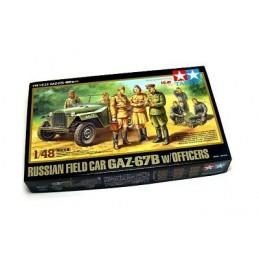JEEP RUSO GAZ-67B  Y OFICIALES