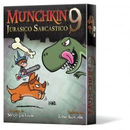 MUNCHKIN 9 JURASICO SARCASTICO