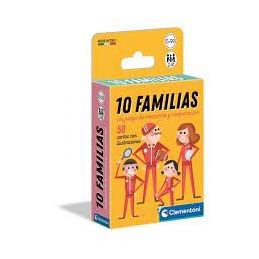10 FAMILIAS JUEGO DE MESA