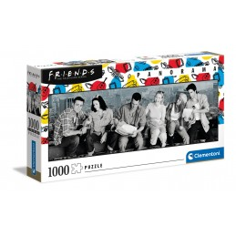 PUZZLE 1000 PANORAMA FRIENDS