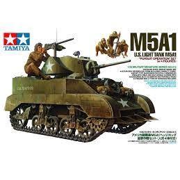 US M5A1 LIGHT TANK W/MORTAR