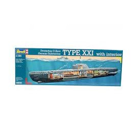 U-BOAT XXI TYPE W.INTERIEUR
