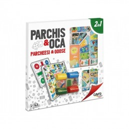 PARCHIS Y OCA CON ACCESORIOS
