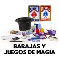 BARAJAS Y JUEGOS DE MAGIA